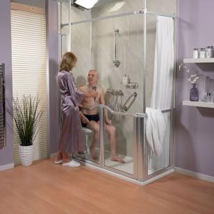 am nager une salle de bains pour les personnes g es le magazine des seniors. Black Bedroom Furniture Sets. Home Design Ideas