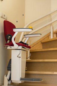 siege monte escalier