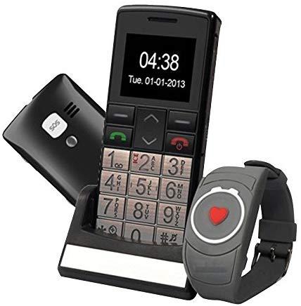 CLASSIC TOP + MONTRE SOS - Téléphone portable senior