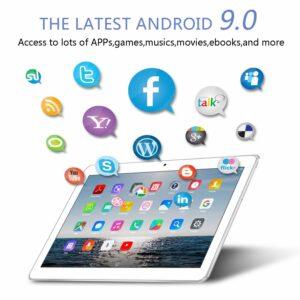 4G LTE Tablette tactile 10 pouces – TOSCIDO