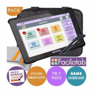 FACILOTAB Pack L Onyx 10,1
